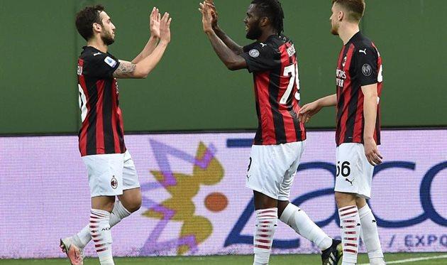 Игроки Милана, getty images