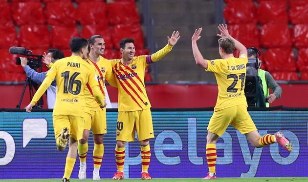 Барселона обыграла Атлетик, Getty Images