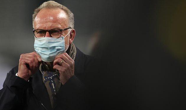 Карл-Хайнц Румменигге, Getty Images