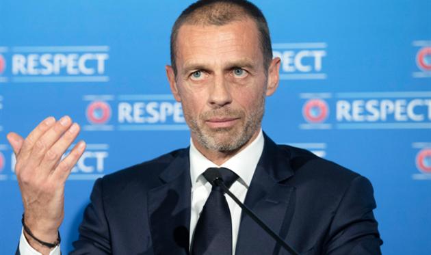 Александер Чеферин, фото УЕФА