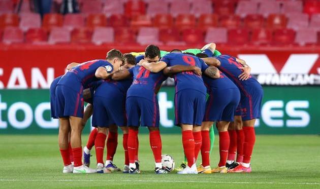 Игроки Атлетико Мадрид, Getty Images