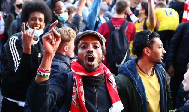 Фанаты Арсенала, getty images