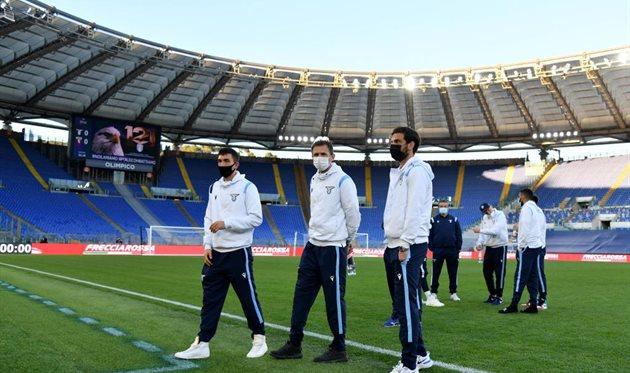 В марте Лацио так и не дождался Торино на Стадио Олимпико, Getty Images