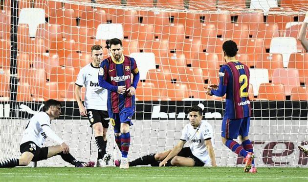 Валенсия — Барселона, Getty Images