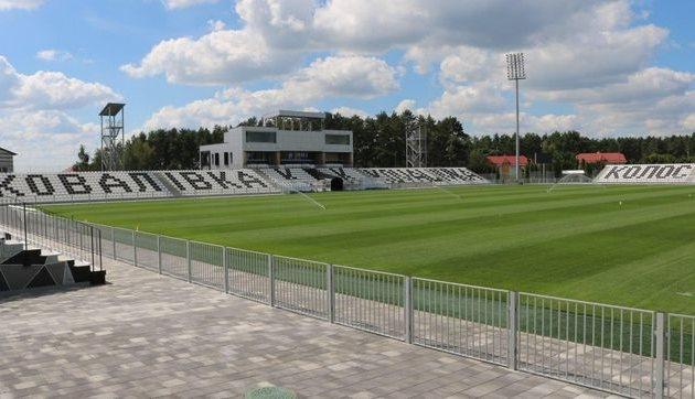 Стадион Колос в Ковалевке, фото ФК Колос Ковалевка