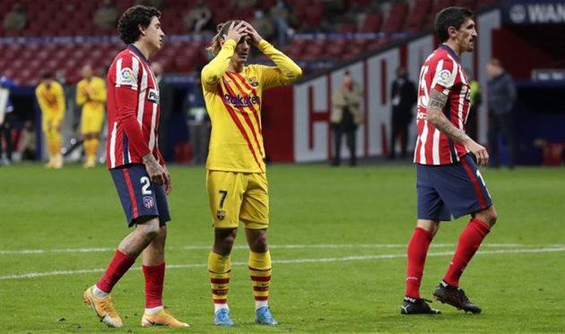 Атлетико — Барселона, Getty Images