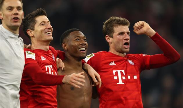Бавария - чемпион, getty images