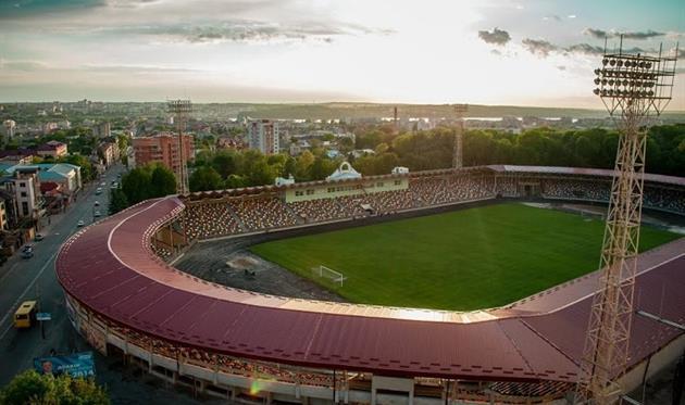 Стадион в Тернополе, фото УАФ