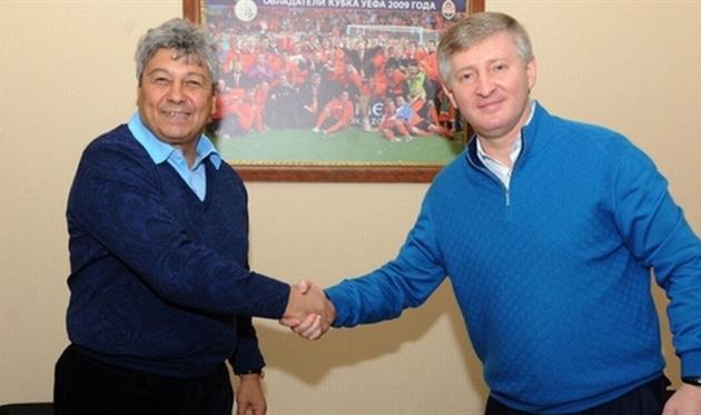 Мирча Луческу и Ринат Ахметов, ФК Шахтер