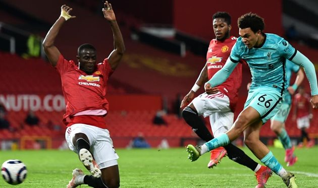 Матч Манчестер Юнайтед - Ливерпуль, getty images