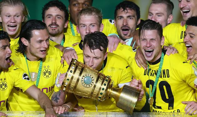 Боруссия Дортмунд - обладатель Кубка Германии-2020/21, Getty Images