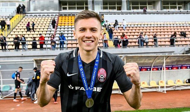 Егор Назарина, ФК Заря