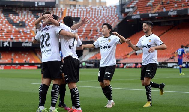 Игроки Валенсии, Getty Images
