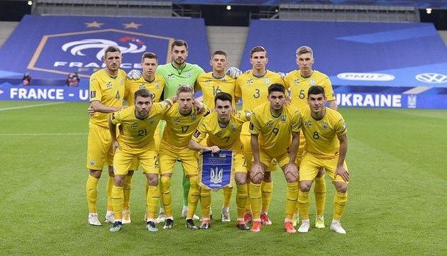 Сборная Украины, фото УАФ