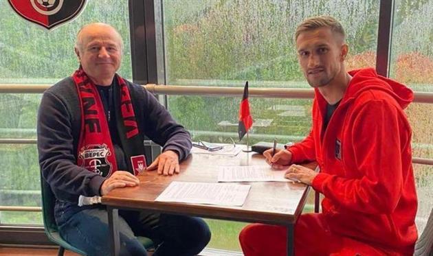 Роман Гончаренко (справа), НК Верес