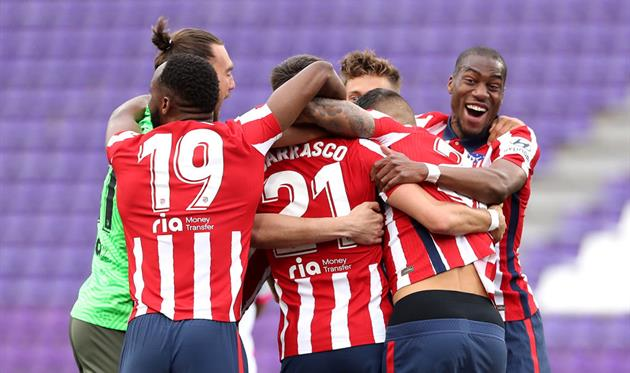 Игроки Атлетико, Getty Images