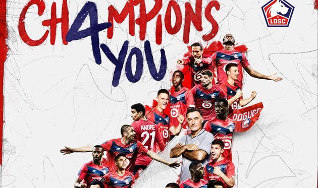 Лилль - чемпион Франции-2020/21, Getty Images