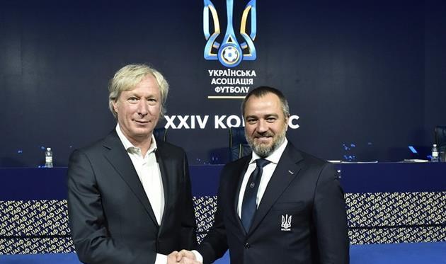Алексей Михайличенко и Андрей Павелко, УАФ