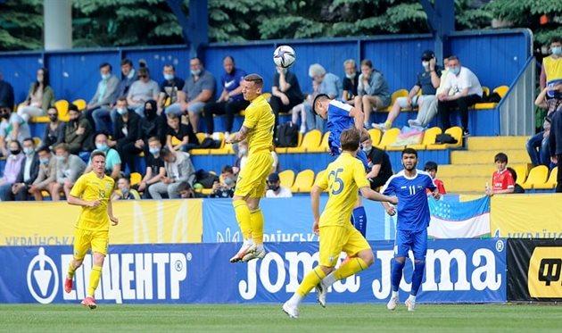 Украина U21 — Узбекистан U21, УАФ