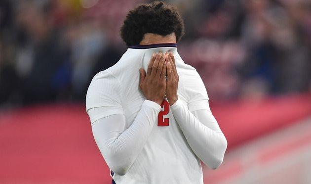 Трент Александер-Арнольд в матче против Австрии, Getty Images
