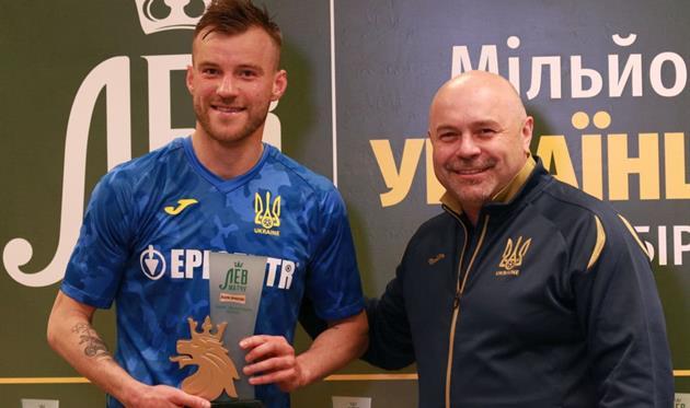 Андрей Ярмоленко (слева), УАФ