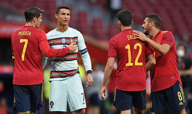 Испания - Португалия, Getty Images