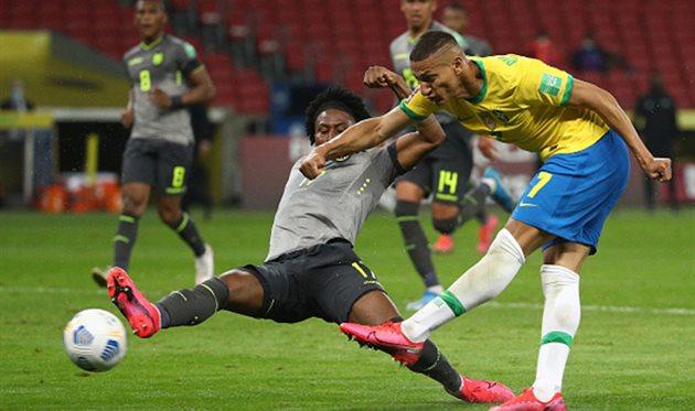 Бразилия - Эквадор, Getty Images