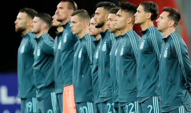 Игроки сборной Аргентины, getty images