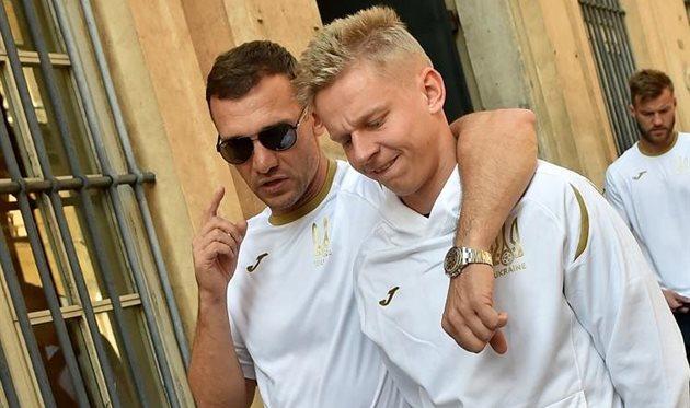 Андрей Шевченко и Александр Зинченко, УАФ