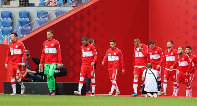 Футболисты сборной Польши, Getty Images