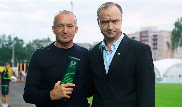 Роман Григорчук (слева), ФК Шахтер Солигорск