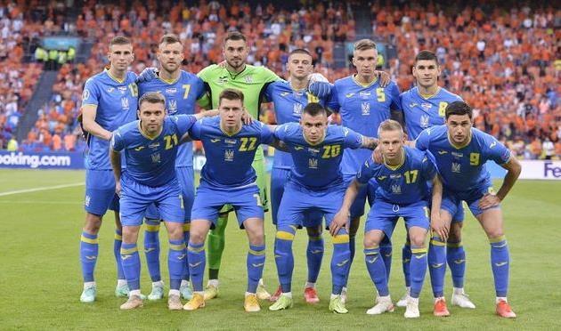 Нидерланды — Украина, фото УАФ