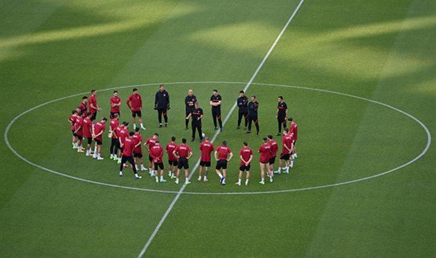 Игроки сборной Турции, Getty Images