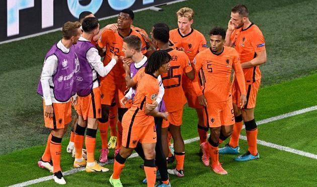 Игроки сборной Нидерландов, getty images