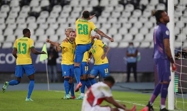 Бразилия - Перу, Getty Images