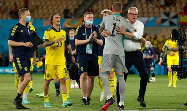 Игроки сборной Швеции, Getty Images