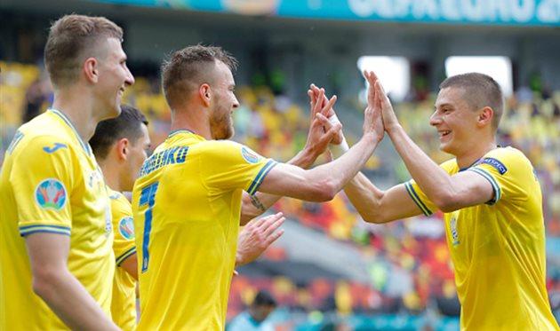 Игроки сборной Украины, Getty Images