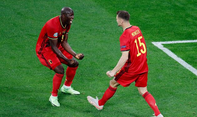 Игроки сборной Бельгии, getty images