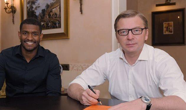 Марлон и Сергей Палкин, ФК Шахтер