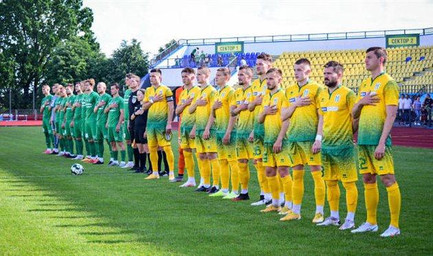 Игроки Полесья (справа), ФК Полесье