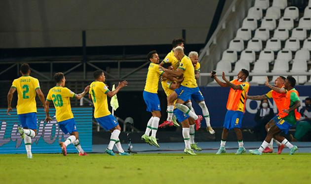 Бразилия - Колумбия, Getty Images