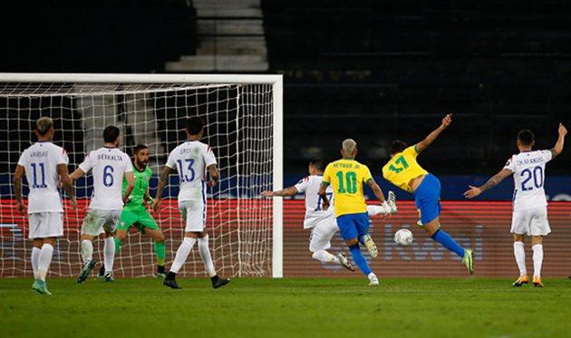 Бразилия - Чили, Getty Images