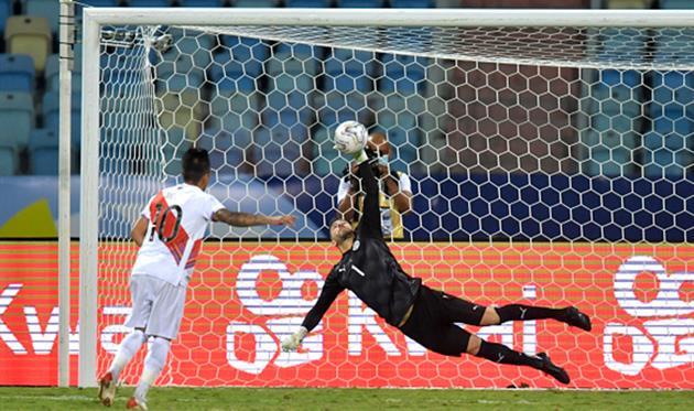 Перу - Парагвай, Getty Images