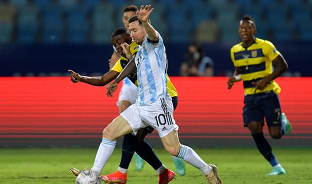 Аргентина - Эквадор, Getty Images