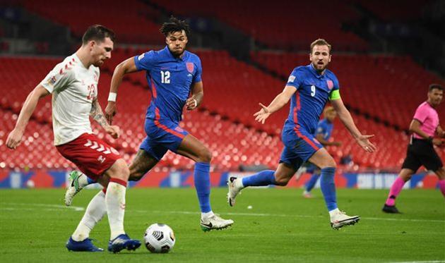 Англия — Дания, Getty Images