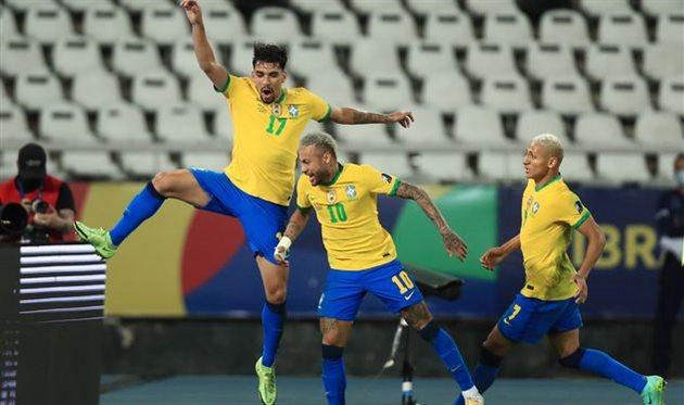 Бразилия — Перу, Getty Images