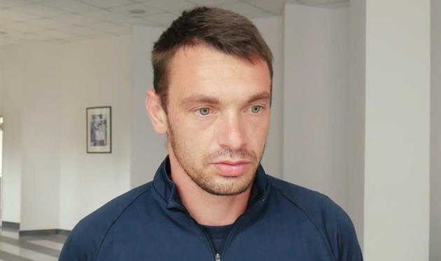 Евгений Паст, фото СК Днепр-1