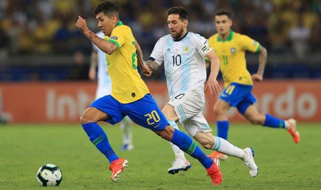 Аргентина — Бразилия, Getty Images