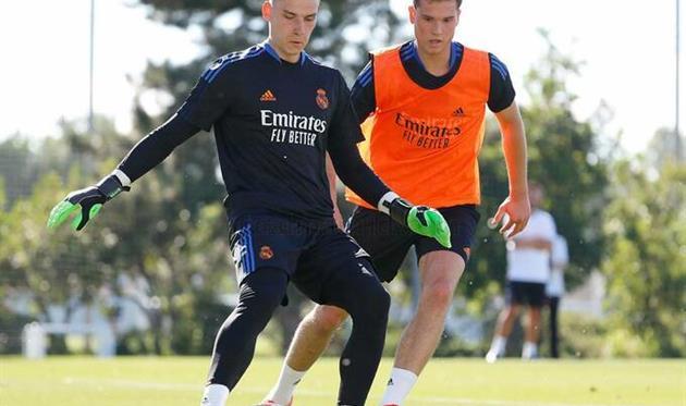 Андрей Лунин, ФК Реал Мадрид
