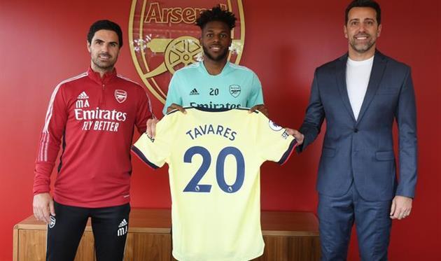 Нуну Тавареш, twitter.com/Arsenal